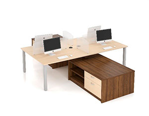 Candex open concept workstations