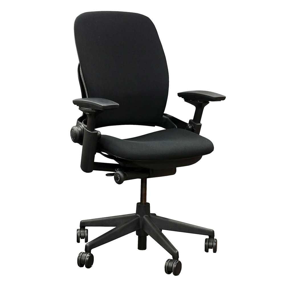 steelcase leap v2 black