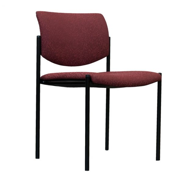 steelcase player red stacking guest chair