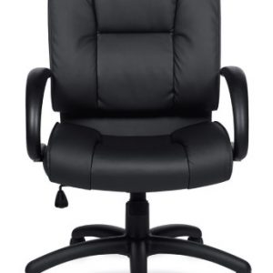 otg midback luxhide leather conference room chair