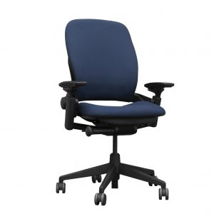 steelcase leap v2 indigo full function ergonomic task chair