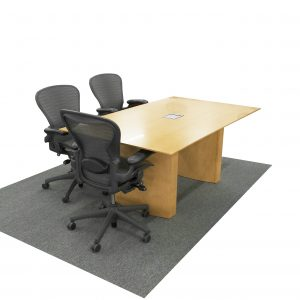 maple wood 6 foot conference room table contemporary style