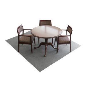 48 inch round queene anne traditional table wood mahogany