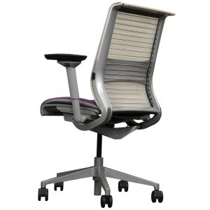 steelcase think lumbar support mesh back