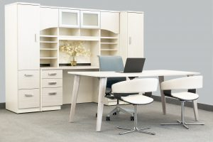 Candex Laminate Desk Suite