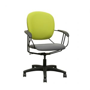 lime green and grey steelcase uno