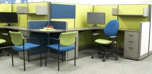 Haworth Custom Refurbished Workstations