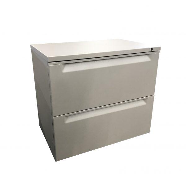 Herman miller 2-drawer lateral file