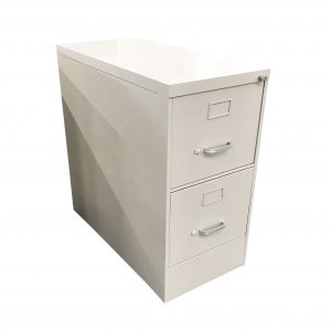 steelcase 2-drawer letter-sized vertical filing cabinet