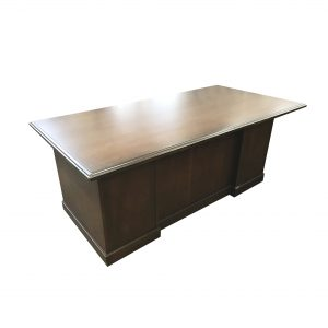 kimball wood desk tradtiional