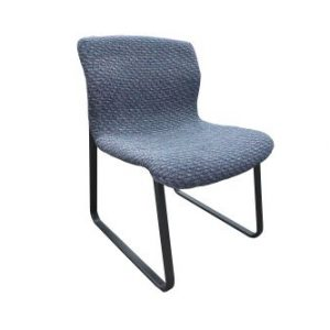 armless knoll wood side chair
