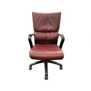 bugundy sitonit executive task chair